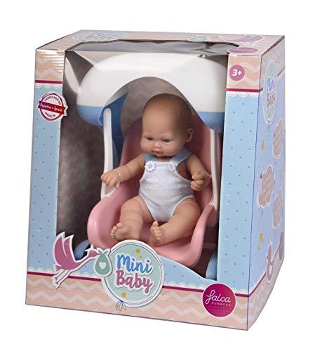 Falca 25041 Baby Puppe mit Zubehör