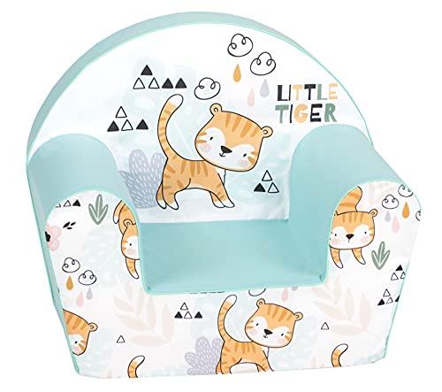 Delsit DT8-21028 DELSIT - Sillón infantil, diseño de tigre, multicolor