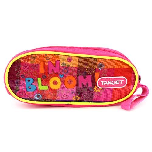 Target Cible Kids 'Round 1 Zip Reflex en Fleurs Trousse, Multicolore, Taille Unique