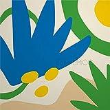 daoyiqi Juego de pegatinas decorativas para azulejos, diseño floral, diseño de flores, hojas y plantas, 10,6 x 10,1 cm,...