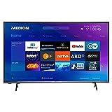 MEDION X15052 125,7 cm (50 Zoll) UHD Fernseher (Smart-TV, 4K Ultra HD, HDR 10, Micro Dimming, Netflix, Prime Video, WLAN, PVR, Bluetooth)