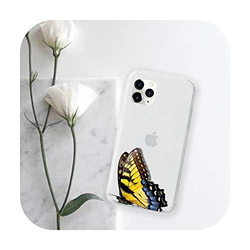 Funda transparente para iPhone 11 12 mini pro XS MAX 8 7 6 6S Plus X 5S SE 2020 XR-a9-iphone7or8