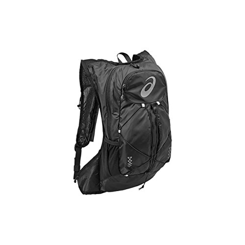 Asics 131847 – 0946 Polyester, schwarz, Rucksack für Laptop und Notebook (Polyester, einfarbig, 240 mm, 100 mm)