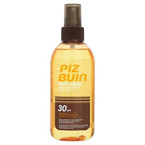 2 x Piz Buin Wet Skin Transparent Sun Spray SPF30 High Protection 150ml
