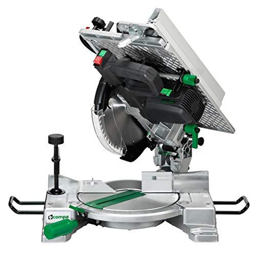 1PZ TRONCATRICE PER LEGNO COMPA MODELLO SILVER GREEN DISCO 250 MM 1600 W