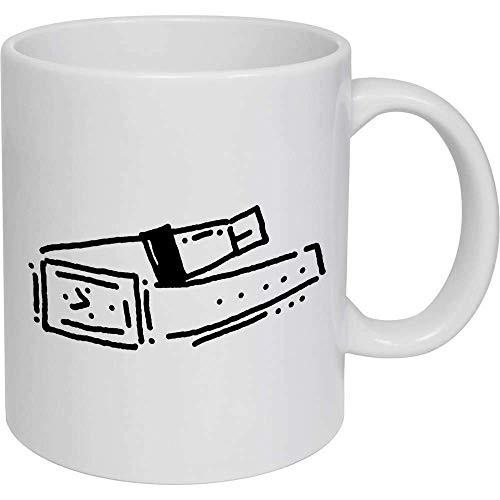 Taza de café, taza de té, reloj de pulsera de cerámica, taza de viaje, regalo para mujeres y hombres