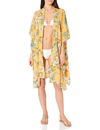 Skye Women's Nelly Kimono Cover-up, Penelope Floral, One Size