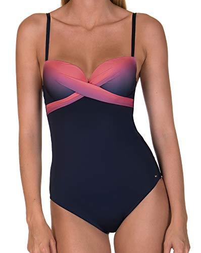 Lisca Badeanzug im Ombre Look pink 38D