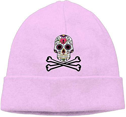 NA Mode Effen Kleur Piraat Suiker Schedel Vlag Coltrui Cap Voor Unisex Roze