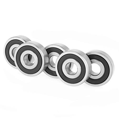 Rodamiento de bolas, rodamiento sellado de goma doble de 10 * 30 * 9 mm, para proyectos de eje/varilla de 10 mm, rodamientos de rodillos de impresora 3D, suministros industriales