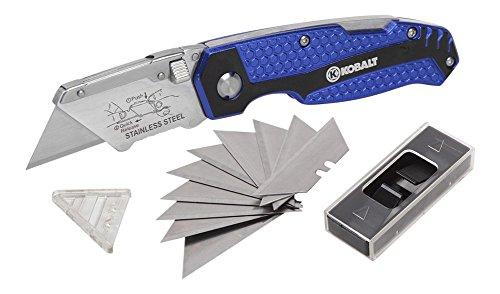 KOBALT Quick-Change Folding Lock-Back Knife