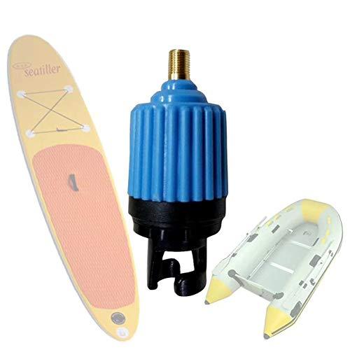Yiwa Opblaasbare accessoires, kajak-adapter, voor luchtventiel, boot, voor het oppompen van autobanden