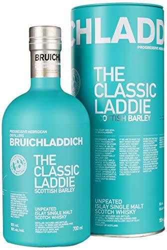 Bruichladdich The Classic Laddie mit 50{404048f0eb9a8331862b88617a24d4553cfefe7c1a5be606a1ccdc090dbe9151} vol. (1 x 0,7l)   Single Malt Scotch Whisky von der Insel Islay   Original Scottish Barley von der Bruichladdich Distillery aus Schottland