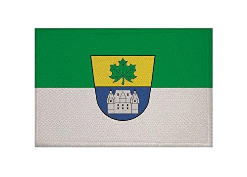 U24 Aufnäher Ahorn (LK Coburg) Fahne Flagge Aufbügler Patch 9 x 6 cm