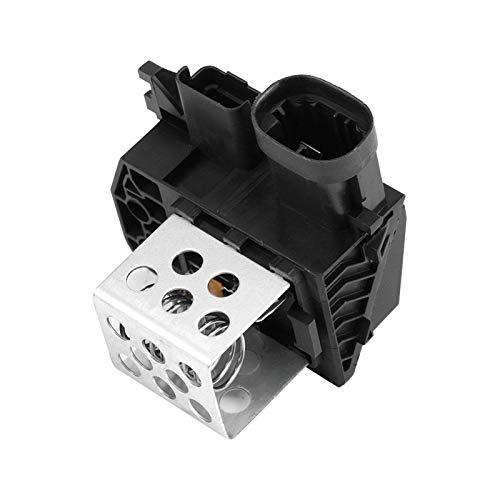 YUFENGJIAO Ajuste de la resistencia del motor del ventilador para Citroen Berlingo C1 C4 Xsara Peugeot 107 206 307 Partner 9673999880 Accesorio automático de la resistencia del ventilador del calentad