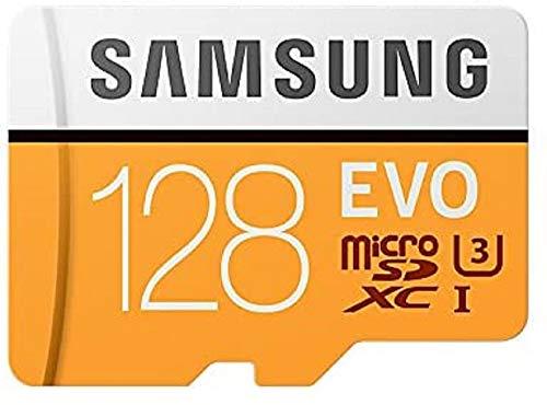 Samsung Memorie MB-MP128GA EVO Scheda MicroSD da 128 GB, UHS-I, Classe U3, Fino a 100 MB/s, Adattatore SD Incluso