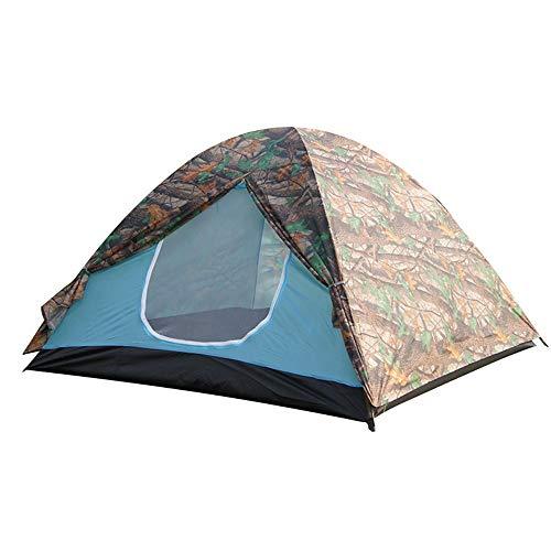 Luyshts Carpa Camuflaje De Moda Camping 3-4 Personas Tienda De Campaña Montañismo Al Aire Libre Turismo De Playa Protector Solar Tienda De Campaña Impermeable
