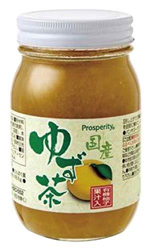 無添加 国産ゆず茶 520g ★宅配便★国産原料100%使用。柚子皮・果汁たっぷり、柚子の香りと爽やかな甘みです。湯や水などで薄めて飲むほか、ヨーグルトに入れてお召し上がりください。