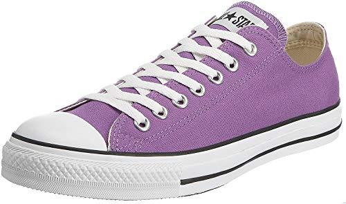 CONVERSE Chuck Taylor All Star Seasonal Ox, Unisex-Erwachsene Sneakers, Violett (Purple/White/Black), 41.5 EU