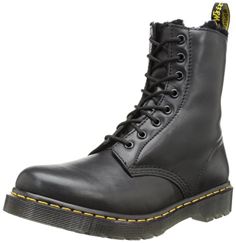 Dr. Martens SERENA Cartegena BLACK, Damen Combat Boots, Schwarz (Black), 36 EU (3 Damen UK)