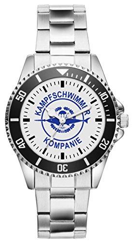 Soldat Geschenk Artikel Bundeswehr Kampfschwimmer Uhr 1585