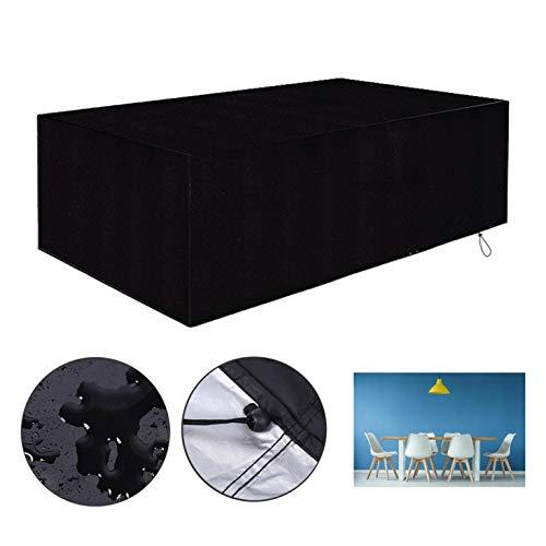 Sanheng - Cubeta de ratán para muebles de jardín, resistente al viento, tela Oxford 420D Oxford de ratán para patio, exterior, Oxford, 170*94*70CM