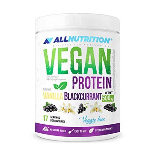 Allnutrition Vegan Protein, Vanilla Blackcurrant, 500g