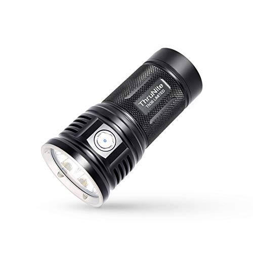 ThruNite Linterna LED TN36 (versión limitada), 11000 lúmenes CREE XHP 70B LED linterna de mano potente linterna de potencia por 4 baterías IMR 18650 (pilas no incluidas) para búsqueda y rescate NW