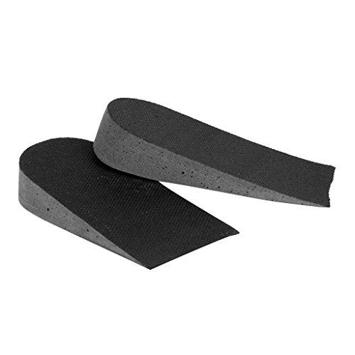 MagiDeal Semelle Coussin Invisible augmenter hauteur de chaussure unisexe noir Insole Shoe Pad