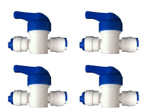 The Water Filter Men 4 x ósmosis inversa válvula