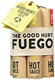 Modern Gourmet Foods, Set de Regalo Muestrario de Salsas Picantes 'The Good Hurt Fuego', Set de 7 Salsas de Chile Picantes, 90 ml en cada una