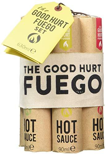 The Good Hurt Fuego, set regalo con chili piccante: una collezione di 7 salse piccanti da tutto il mondo Sapori