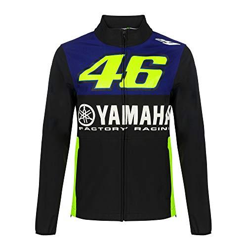Valentino Rossi Yamaha Dual-Racing, Softshell para Hombre, Hombre, YDMJK362309002, Royal Blue, M