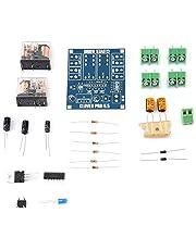 Tablero de protección de altavoces AC 12-24V Regulador de Voltaje de Doble Relé Módulo de Tablero de Protección de Altavoces Kit de Bricolaje