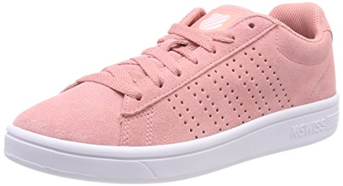 K-Swiss Damen Court Casper SDE Sneaker, Pink (Peaches N' Cream/Wht 657), 38 EU