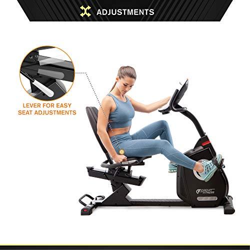 Circuit Fitness 587 Magnetic Recumbent Exercise Bike