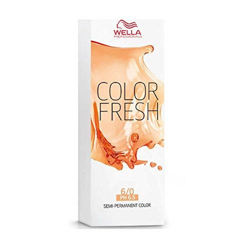 Wella Couleur fraîche, Semi Permanent, Blond foncé, 6/0 75 ml