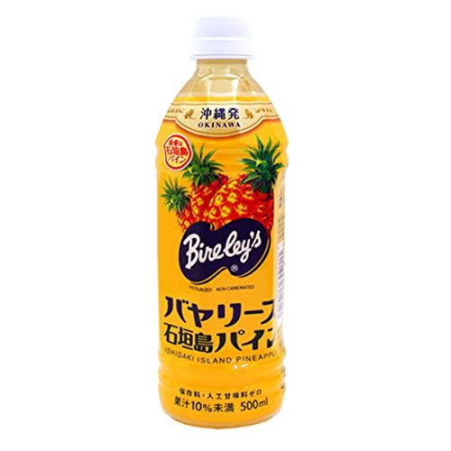 沖縄バヤリース 石垣島パイン 500ml×12本(果汁10%)