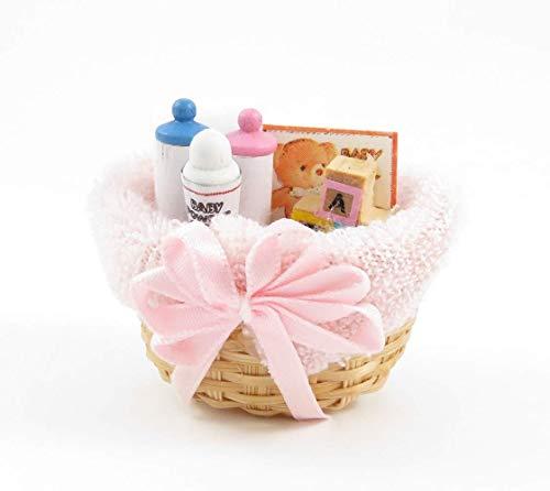 Melody Jane Casa Muñecas Bebé Productos Mimbre Cesta