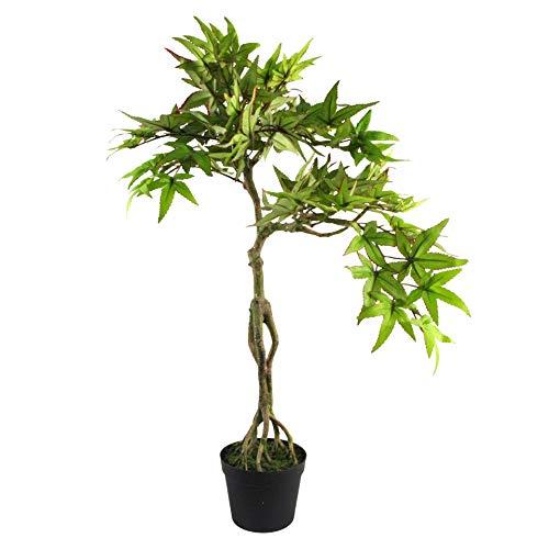 Leaf 60cm Artificial Maple Bonsai Tree