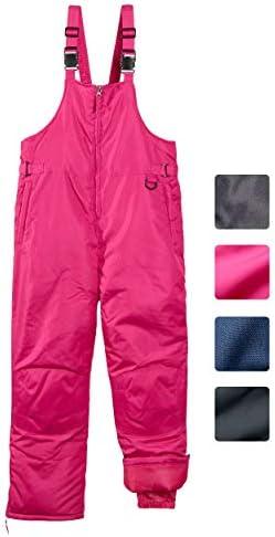 CHEROKEE Boys Girls Insulated Ski Snowbib Pants Berry 16 18 product image