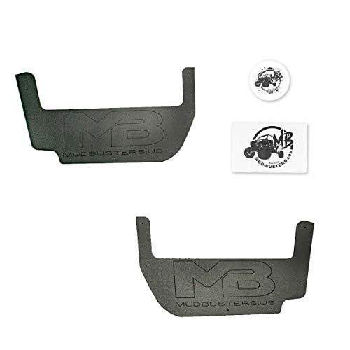 MudBusters Interior Door Pockets for Yamaha Wolverine RMAX2 1000 & Wolverine RMAX4 1000 Models