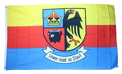 Yantec Nordfriesland Flagge Fahne 90 * 150 cm