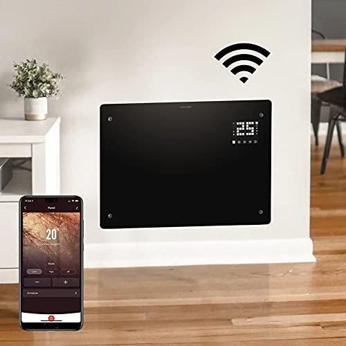 Devola WiFi Enabled Electric Glass Panel Heater