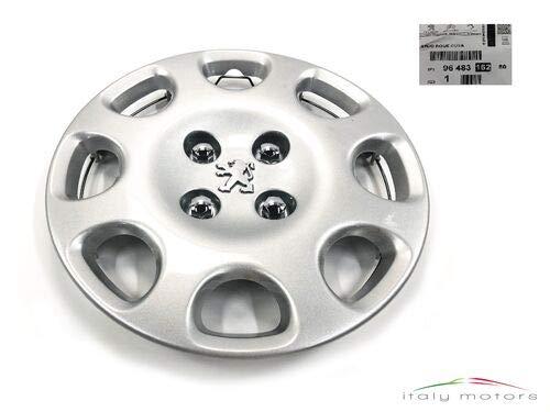Peugeot Original Radzierblende Radkappe Cuba Silber 14 Zoll 9648316280