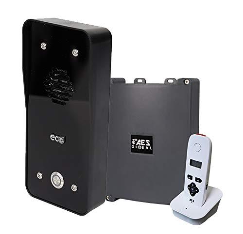 AES Global 603 ECO Lite - Sistema de intercomunicación inalámbrico con terminal (control de acceso seguro HAS o puerta para la oficina en casa)