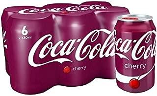 Coca-Cola Cherry 6 x 330ml (Pack of 2)