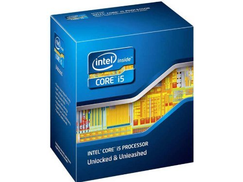 Intel CPU Core i5-3550 de 3ª generación (4 x 3,3 GHz, Ivy Bridge, Socket 1155, caché L3 de 6 Mb, tecnología Intel Turbo Boost 2.0) (renovado)