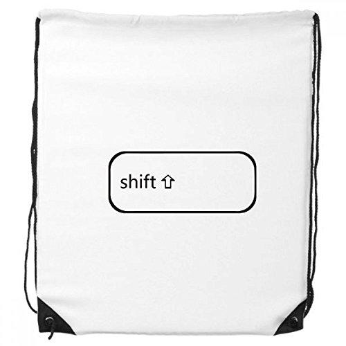 DIYthinker Tastatur Symbol Umschalt-Rucksack Einkauf Gift Sporttaschen