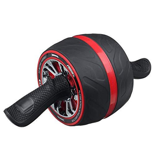 NDYD Rueda de Ejercicio Abdominal ABS Rodillo de Rueda Abdominal Mute Home Deportes Deportes Formal DSB (Color : Red, Size : Free Size)